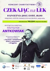 plakat Krzysztof Antkowiak